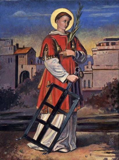 Znalezione obrazy dla zapytania św. wawrzyniec
