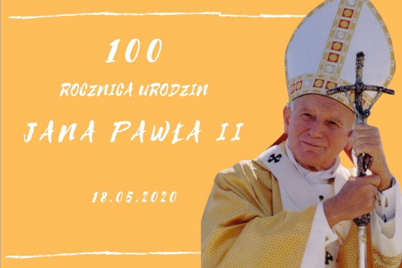 """""""Nie zastąpi Ciebie nikt"""" Hymn na 100 urodziny Jana Pawła II"""
