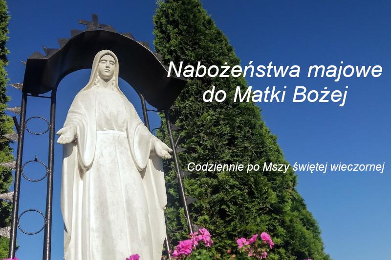 Nabożeństwo majowe 2021