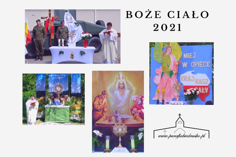 Boże Ciało 2021